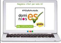 Dominios .ES y .Com gratis