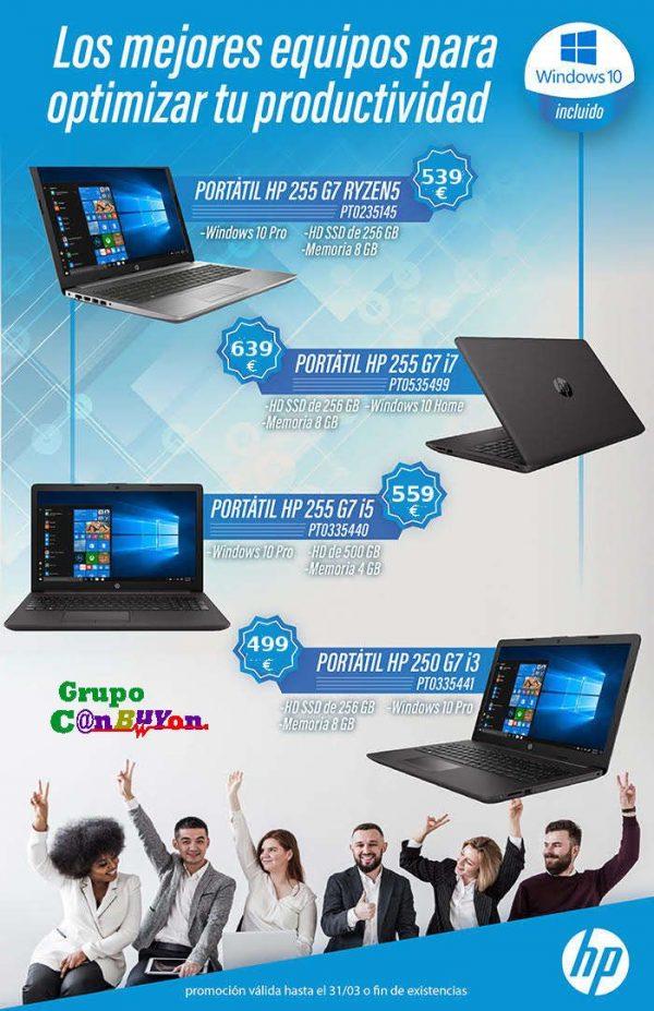 PORTATIL HP 255 G7 8GB 256GB SSD